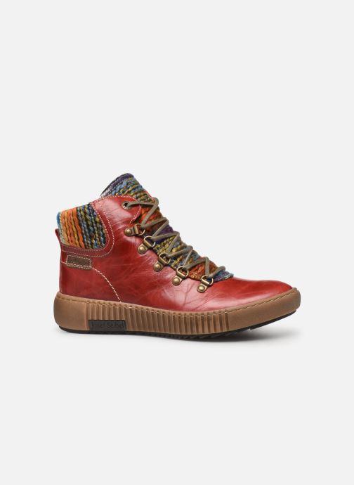 Stiefeletten & Boots Josef Seibel Maren 06 rot ansicht von hinten