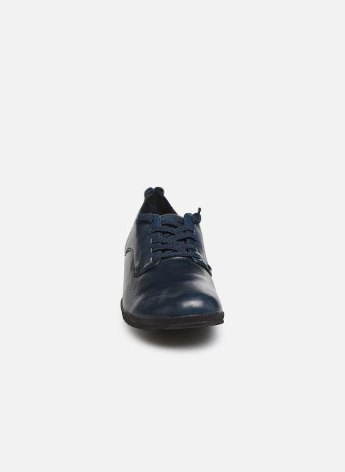 Zapatos con cordones Josef Seibel Naly11 Azul vista del modelo