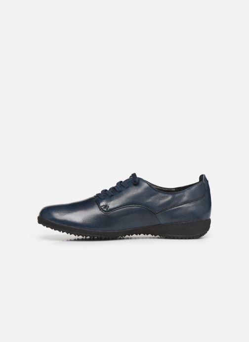 Zapatos con cordones Josef Seibel Naly11 Azul vista de frente
