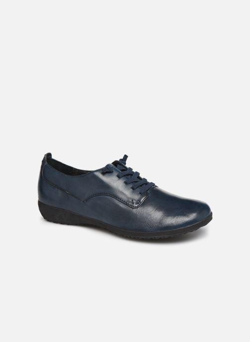 Snøresko Josef Seibel Naly11 Blå detaljeret billede af skoene