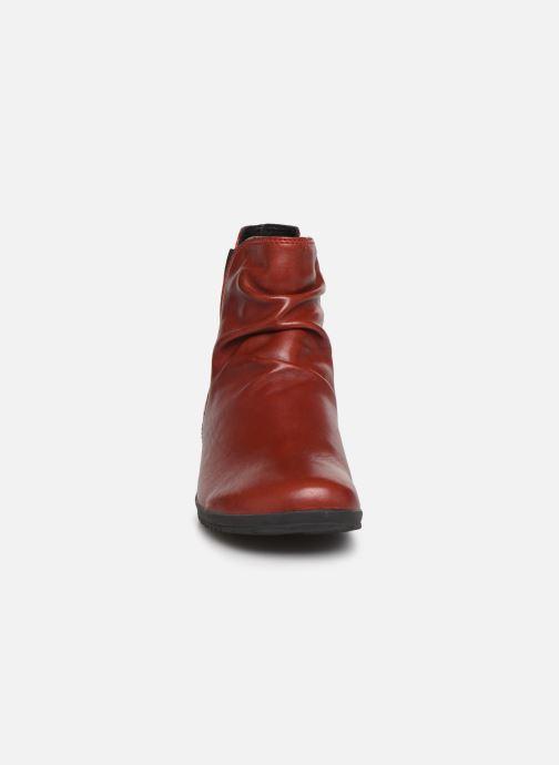 Bottines et boots Josef Seibel Naly 31 Rouge vue portées chaussures