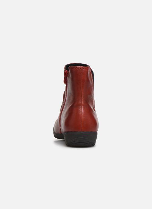 Bottines et boots Josef Seibel Naly 31 Rouge vue droite