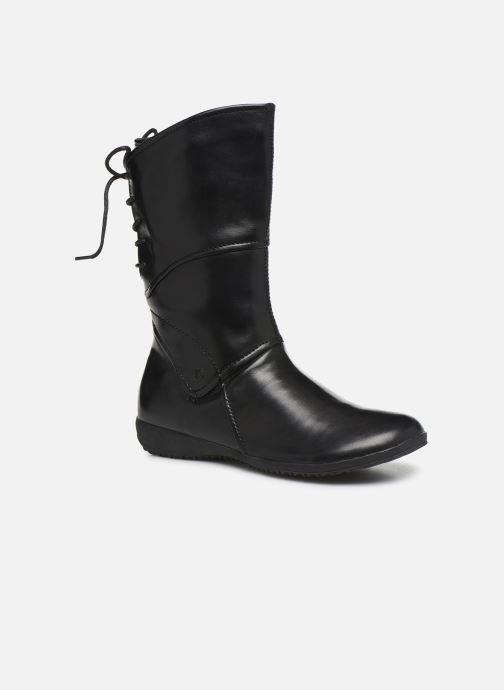 Støvler & gummistøvler Josef Seibel Naly 07 Sort detaljeret billede af skoene