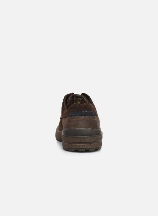 Chaussures à lacets Josef Seibel Emil 24 Marron vue droite