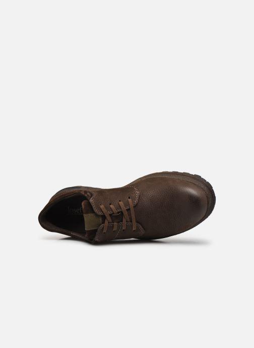 Chaussures à lacets Josef Seibel Emil 24 Marron vue gauche