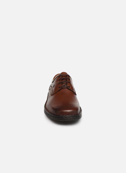 Chaussures à lacets Josef Seibel Talcott Marron vue portées chaussures
