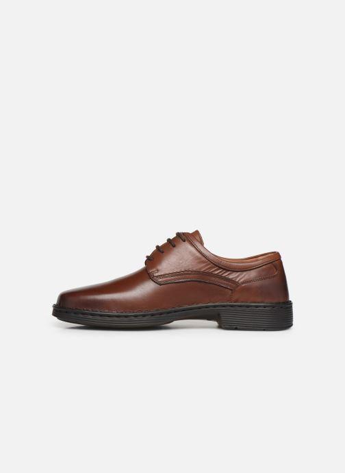 Chaussures à lacets Josef Seibel Talcott Marron vue face