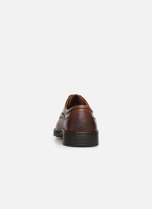 Chaussures à lacets Josef Seibel Talcott Marron vue droite