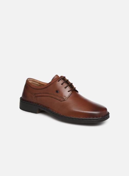 Chaussures à lacets Josef Seibel Talcott Marron vue détail/paire