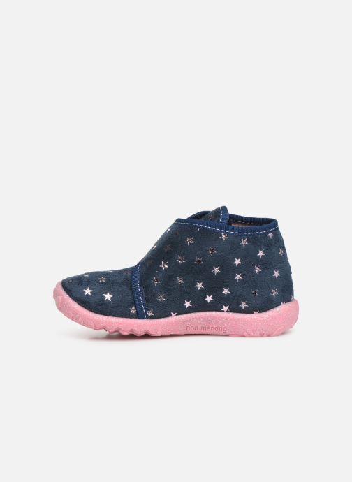Chaussons Superfit Spotty Bleu vue face