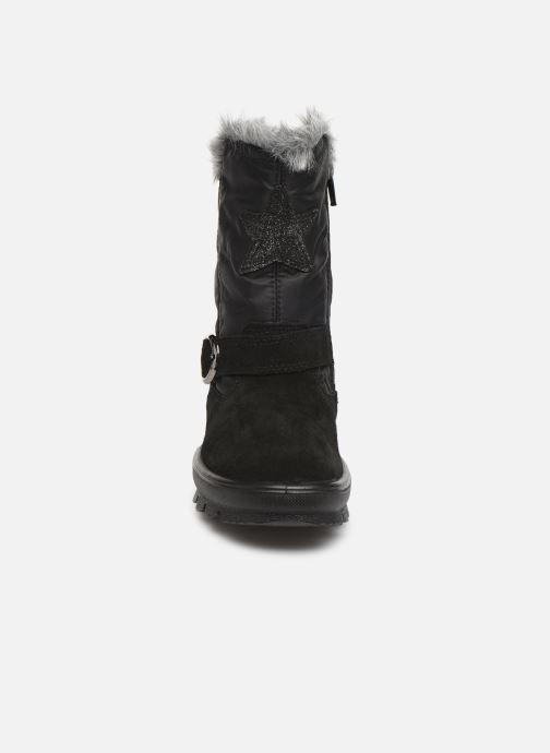 Stiefel Superfit Flavia buckle GTX schwarz schuhe getragen