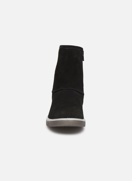 Stiefel Superfit Lora GTX schwarz schuhe getragen