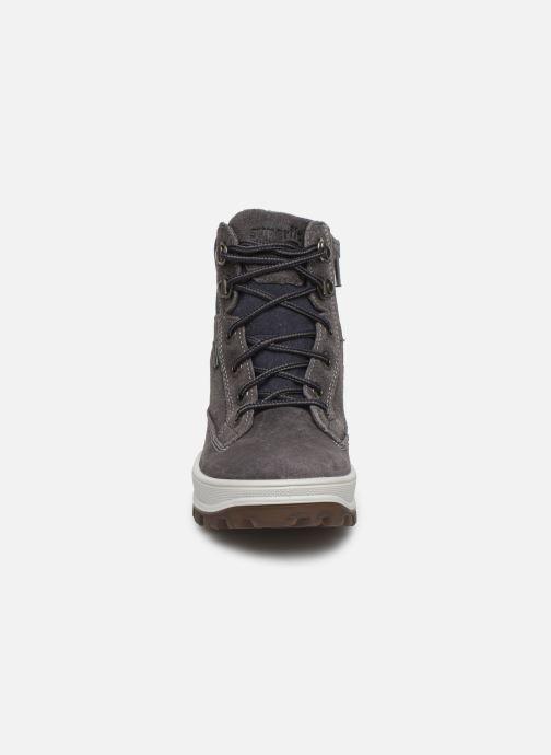 Stiefeletten & Boots Superfit Tedd 1 GTX grau schuhe getragen