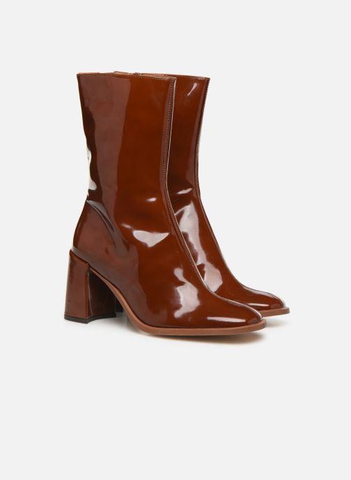 Bottines et boots E8 by Miista Asta Marron vue 3/4