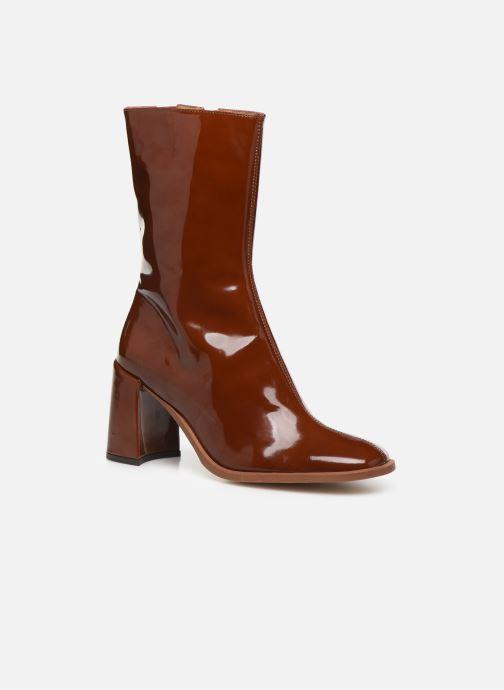 Bottines et boots E8 by Miista Asta Marron vue détail/paire