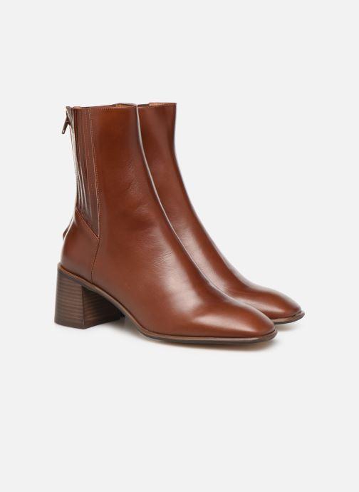Boots en enkellaarsjes E8 by Miista Inka Bruin 3/4'
