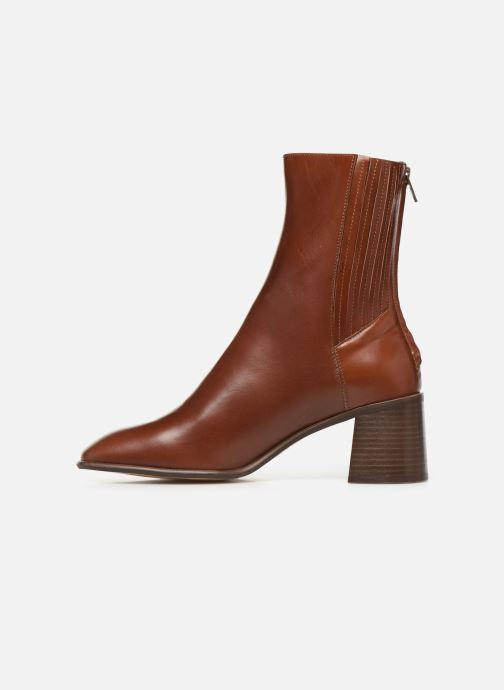 Ankle boots E8 by Miista Inka Brown front view