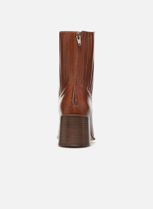 Boots en enkellaarsjes E8 by Miista Inka Bruin rechts