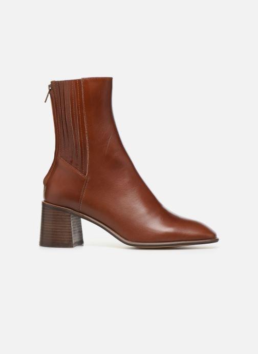 Boots en enkellaarsjes E8 by Miista Inka Bruin achterkant