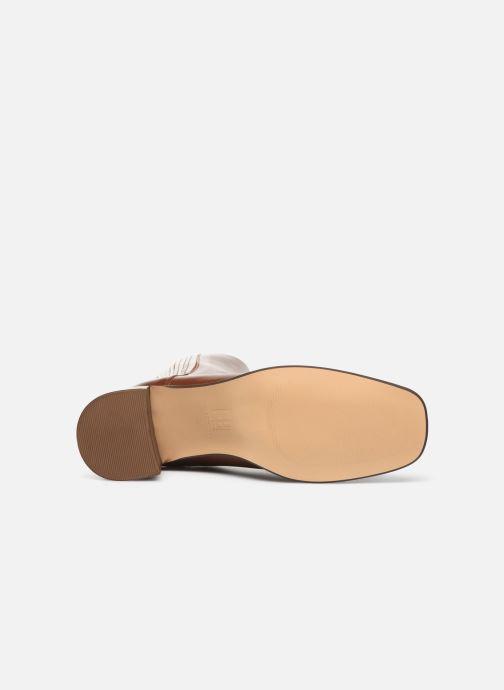 Stiefeletten & Boots E8 by Miista Inka braun ansicht von oben