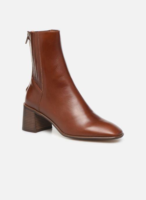 Boots en enkellaarsjes E8 by Miista Inka Bruin detail