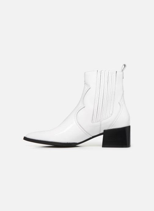 Boots en enkellaarsjes E8 by Miista Minea Wit voorkant