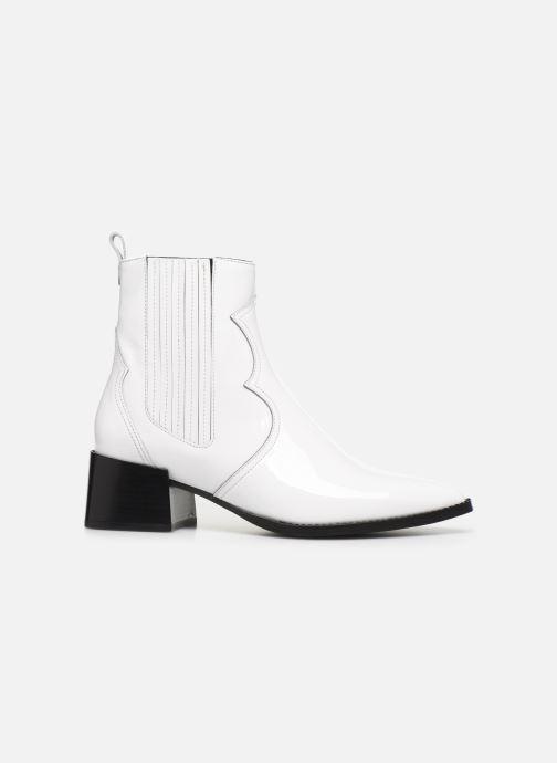 Boots en enkellaarsjes E8 by Miista Minea Wit achterkant