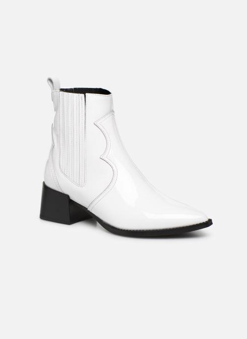 Bottines et boots E8 by Miista Minea Blanc vue détail/paire