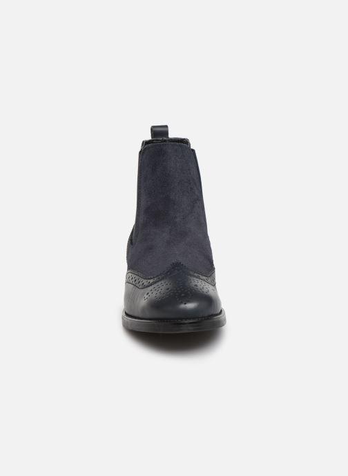 Bottines et boots Georgia Rose Abiga Bleu vue portées chaussures