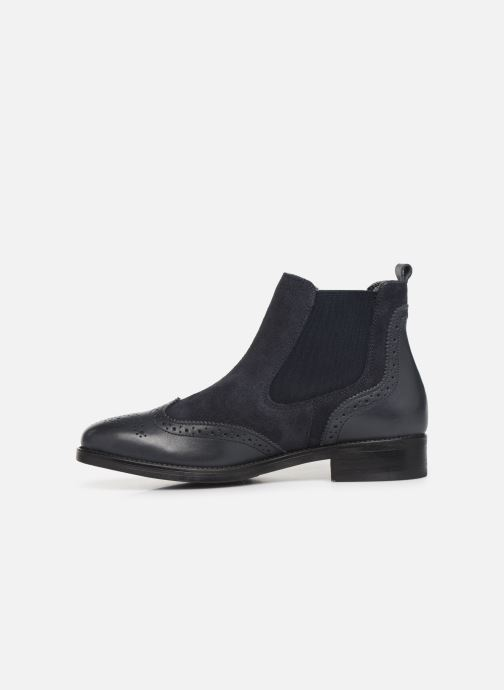 Bottines et boots Georgia Rose Abiga Bleu vue face