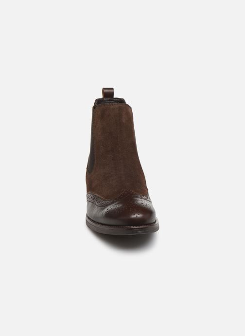 Bottines et boots Georgia Rose Abiga Marron vue portées chaussures