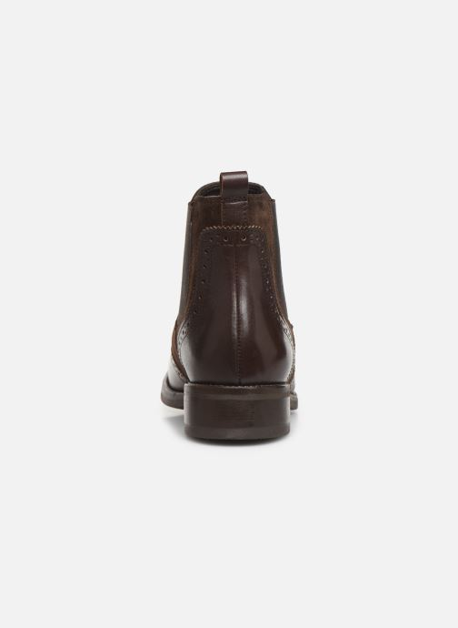 Ankle boots Georgia Rose Abiga Brown view from the right