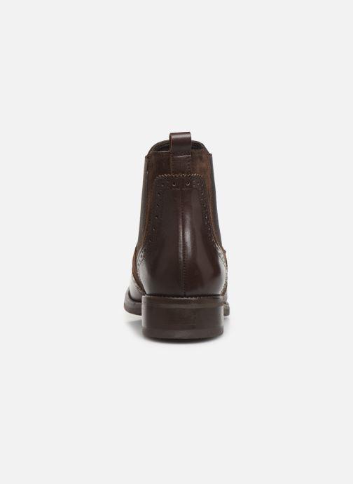 Bottines et boots Georgia Rose Abiga Marron vue droite
