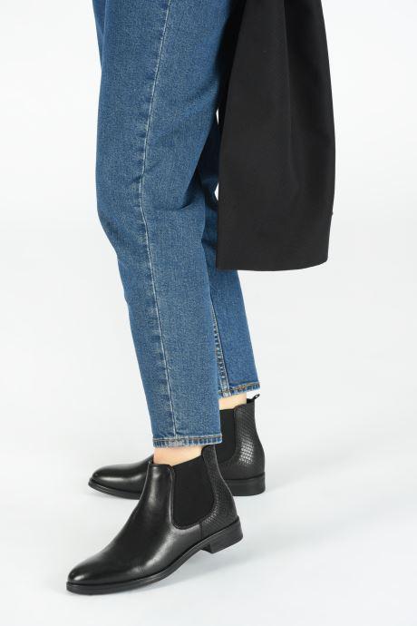 Stiefeletten & Boots Georgia Rose Adelia schwarz ansicht von unten / tasche getragen