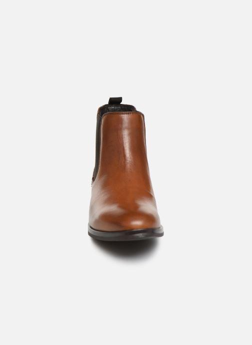 Bottines et boots Georgia Rose Adelia Marron vue portées chaussures