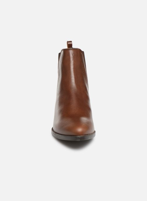 Bottines et boots Georgia Rose Aina Marron vue portées chaussures