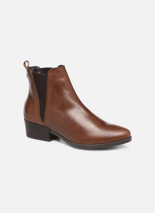 Bottines et boots Georgia Rose Aina Marron vue détail/paire