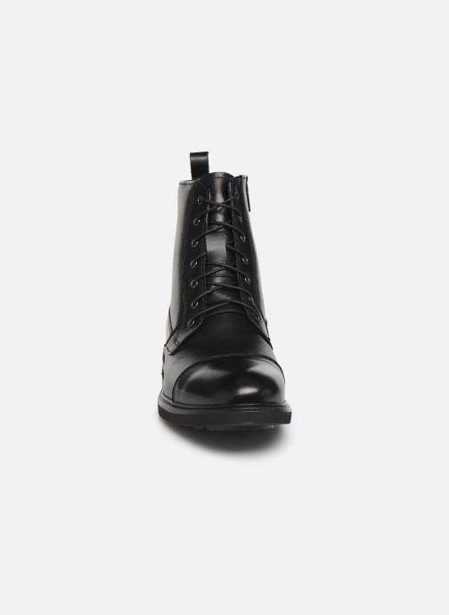 Bottines et boots Georgia Rose Atila Noir vue portées chaussures