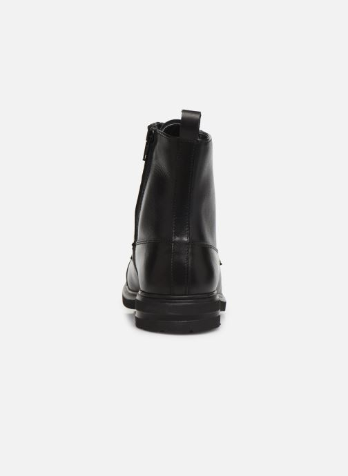 Bottines et boots Georgia Rose Atila Noir vue droite