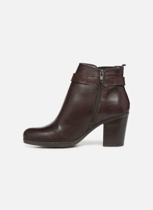 Ankle boots Georgia Rose Anonia Brown front view