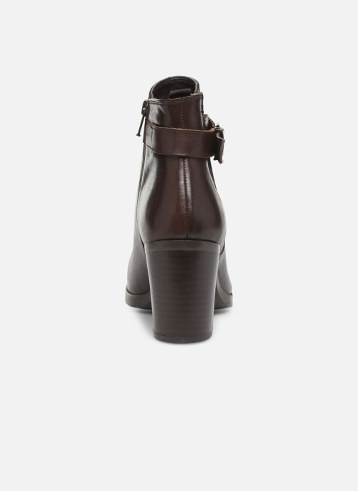 Ankle boots Georgia Rose Anonia Brown view from the right