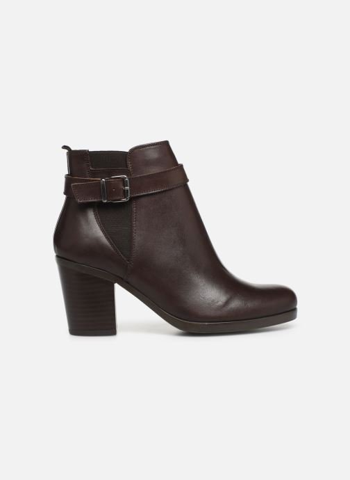 Ankle boots Georgia Rose Anonia Brown back view