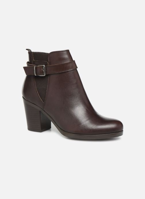 Ankle boots Georgia Rose Anonia Brown detailed view/ Pair view