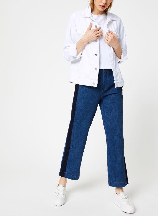 Vêtements Bensimon PANTALON CONNIE Bleu vue bas / vue portée sac
