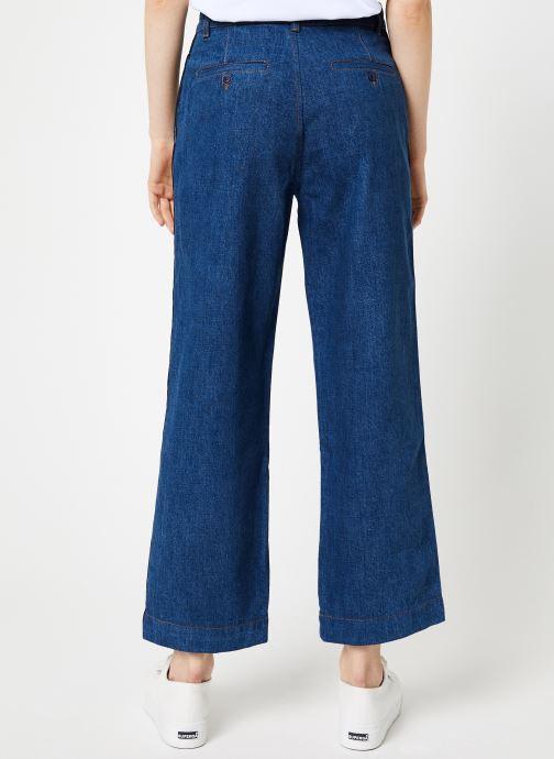 Vêtements Bensimon PANTALON CONNIE Bleu vue portées chaussures