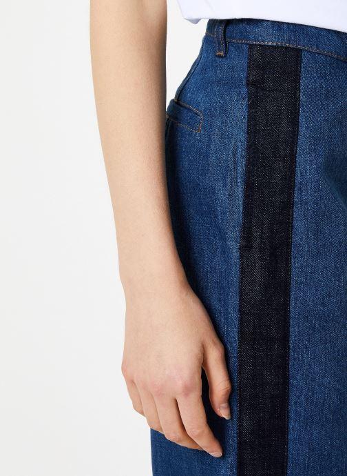 Vêtements Bensimon PANTALON CONNIE Bleu vue face