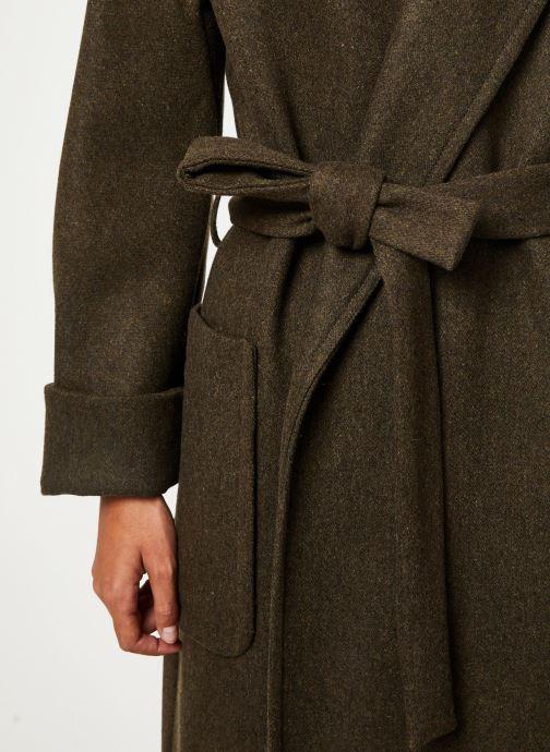Vêtements Bensimon MANTEAU CAROLINA Vert vue face