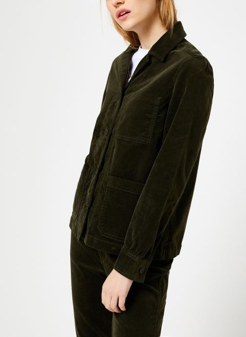 Vêtements Bensimon VESTE TEVALI Vert vue droite
