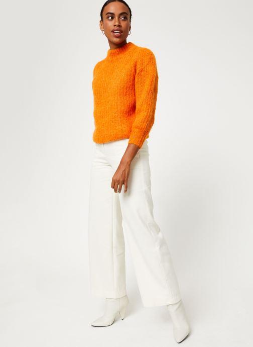 Vêtements Bensimon PANTALON CASPAR Blanc vue bas / vue portée sac