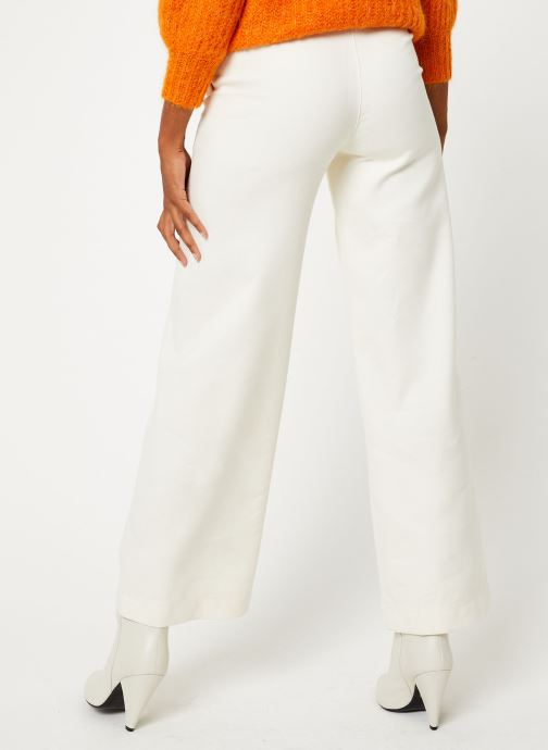 Vêtements Bensimon PANTALON CASPAR Blanc vue portées chaussures